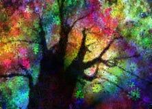 Abstrakcjonistyczny drzewo ilustracji
