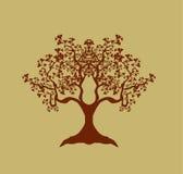 abstrakcjonistyczny drzewo Obrazy Stock