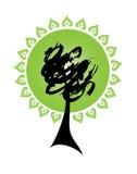 abstrakcjonistyczny drzewo Obraz Royalty Free