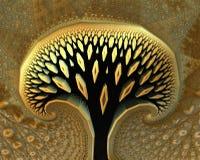 Abstrakcjonistyczny drzewo Zdjęcia Royalty Free