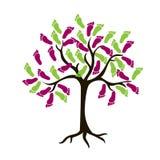 Abstrakcjonistyczny drzewo Obraz Stock
