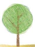 abstrakcjonistyczny drzewo ilustracja wektor