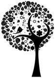 abstrakcjonistyczny drzewo Zdjęcie Stock