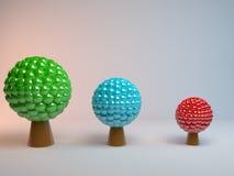 Abstrakcjonistyczny drzewo Pojęcie Zdjęcie Stock