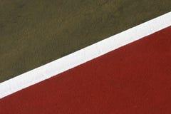 abstrakcjonistyczny dworski tenis Zdjęcia Stock