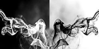 abstrakcjonistyczny dym Obrazy Stock