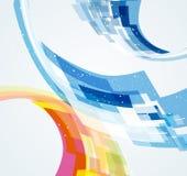 Abstrakcjonistyczny dynamiczny tło Obraz Royalty Free