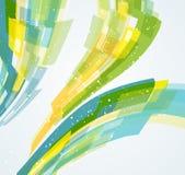 Abstrakcjonistyczny dynamiczny tło Obraz Stock