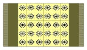 abstrakcjonistyczny dywan Fotografia Royalty Free