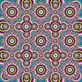 abstrakcjonistyczny dywan Obrazy Stock