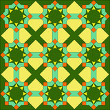abstrakcjonistyczny dywan Zdjęcia Royalty Free