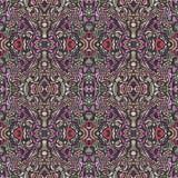 Abstrakcjonistyczny dywanowy projekt Zdjęcie Royalty Free