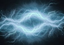Abstrakcjonistyczny elektryczny tło Obraz Royalty Free