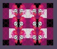 Abstrakcjonistyczny emo wzór Obraz Royalty Free