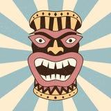 Abstrakcjonistyczny etniczny maskowy pojęcie projekta koloru tło royalty ilustracja