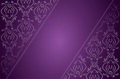 Abstrakcjonistyczny etniczny wschodni stylowy purpurowy backgound ilustracji