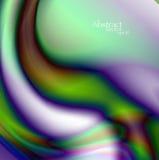 Abstrakcjonistyczny falisty tło eps10 Fotografia Royalty Free