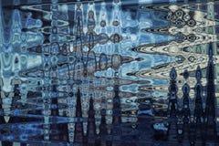 Abstrakcjonistyczny falowy wzór dla tła zdjęcia stock
