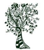 abstrakcjonistyczny fantastyczny drzewo Fotografia Stock