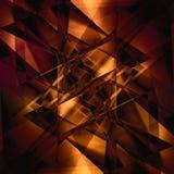 Abstrakcjonistyczny fasety tło Obraz Royalty Free