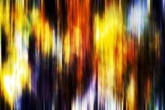 Abstrakcjonistyczny figlarnie zmrok - pomarańczowy błękitny tło, czerwień zieleni phosphorescent kolory Zdjęcia Royalty Free