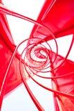 abstrakcjonistyczny filaru zawieszenia widok Obraz Stock