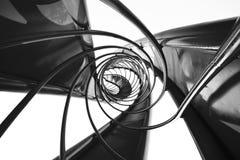 abstrakcjonistyczny filaru zawieszenia widok Obrazy Royalty Free