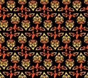 abstrakcjonistyczny firebird wzoru wektor Obrazy Royalty Free
