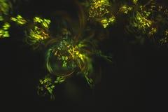 Abstrakcjonistyczny fractal ilustrujący tło odpłacający się tapetowym Obrazy Stock