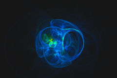 Abstrakcjonistyczny fractal ilustrujący tło odpłacający się tapetowym Obraz Royalty Free