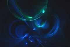 Abstrakcjonistyczny fractal ilustrujący tło odpłacający się tapetowym Fotografia Royalty Free