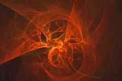 Abstrakcjonistyczny fractal ilustrujący tło odpłacający się tapetowym Zdjęcie Royalty Free