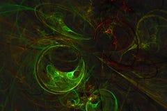 Abstrakcjonistyczny fractal ilustrujący tło odpłacający się tapetowym Obraz Stock