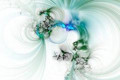 Abstrakcjonistyczny fractal ilustrujący tło odpłacający się tapetowym Zdjęcia Stock