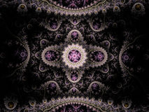 Abstrakcjonistyczny fractal maswerku ornament easterly Fotografia Royalty Free