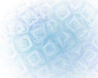 Abstrakcjonistyczny fractal tło z kostki lodu teksturą ilustracja wektor