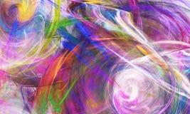 Abstrakcjonistyczny fractal tło, tekstura Zdjęcie Stock