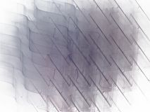 Abstrakcjonistyczny fractal wzór z w kratkę krzywy fala Fotografia Stock