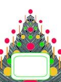 abstrakcjonistyczny furtree Ilustracji