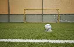 abstrakcjonistyczny futbol Fotografia Stock