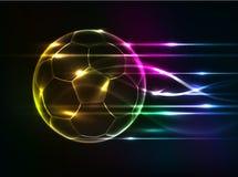 Abstrakcjonistyczny futbolowy tło Obraz Royalty Free