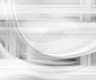 Abstrakcjonistyczny Futurystyczny tło Zdjęcia Royalty Free