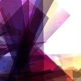 Abstrakcjonistyczny futurystyczny tło Zdjęcie Royalty Free