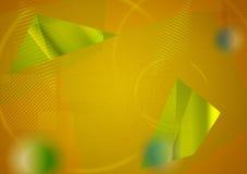 Abstrakcjonistyczny futurystyczny techniki tło Zdjęcia Royalty Free