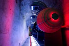 abstrakcjonistyczny futurystyczny wnętrze Zdjęcia Royalty Free