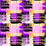 Abstrakcjonistyczny geometrical bezszwowy szorstki grunge wzór, nowożytny desig ilustracja wektor