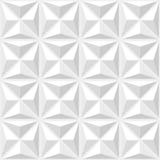 Abstrakcjonistyczny geometrical deseniowy biel Obrazy Stock