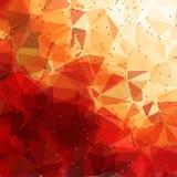 Abstrakcjonistyczny Geometrical tło Fotografia Royalty Free