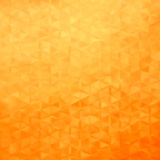 Abstrakcjonistyczny geometrical tło - złoci triangtes ilustracji