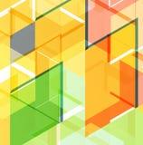 Abstrakcjonistyczny geometrycznego projekta szablon Fotografia Royalty Free